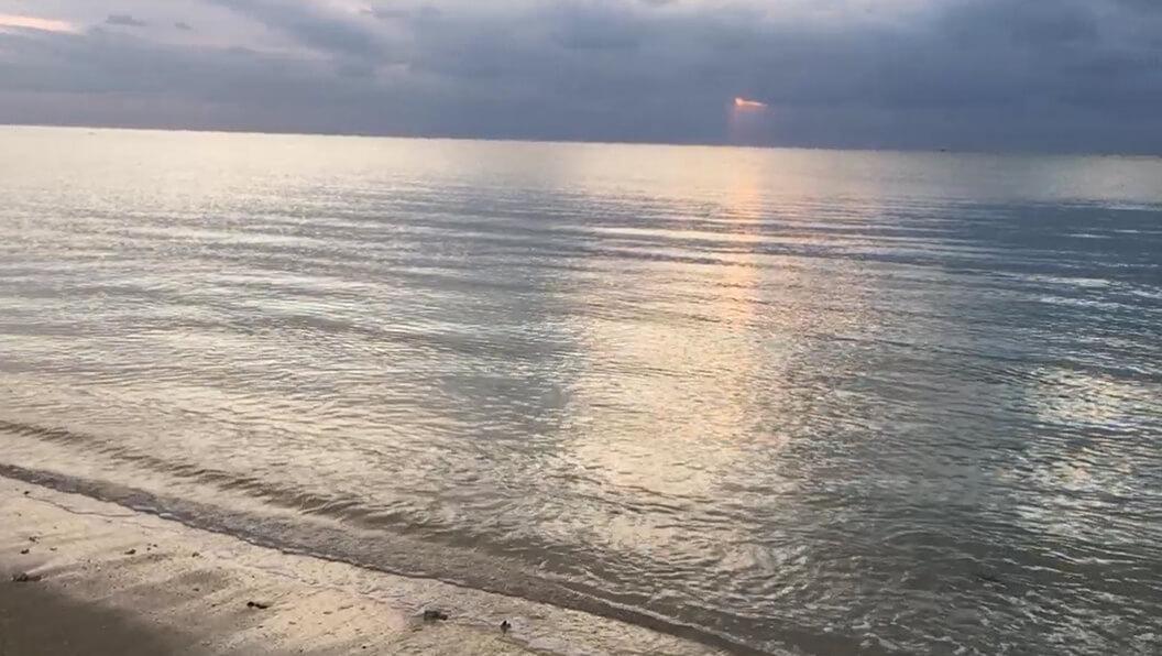 【糸満】夕やけと海 動画素材