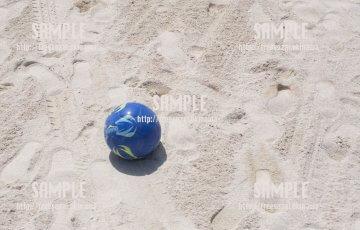 ビーチサッカー 写真素材