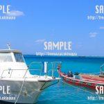 【沖縄】綺麗な海でマリンスポーツ 写真素材