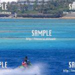 【沖縄】グラデーションの海と水上バイク