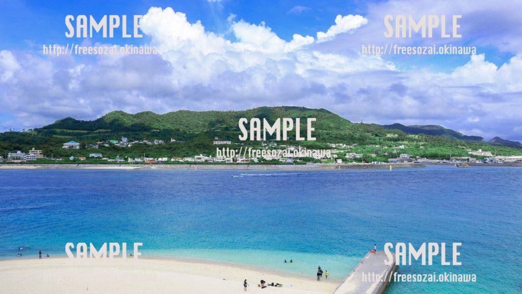 海岸の景色 写真素材