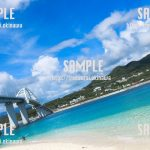 夏のビーチ 写真素材