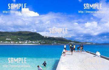 海岸の風景 写真素材
