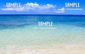 きれいな浜辺 写真素材