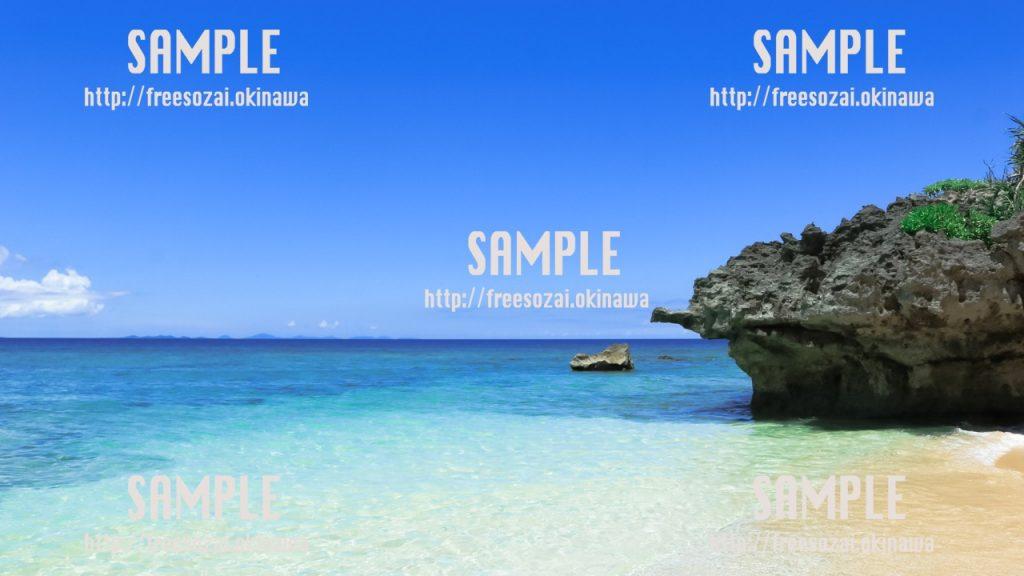 沖縄の海岸 写真素材